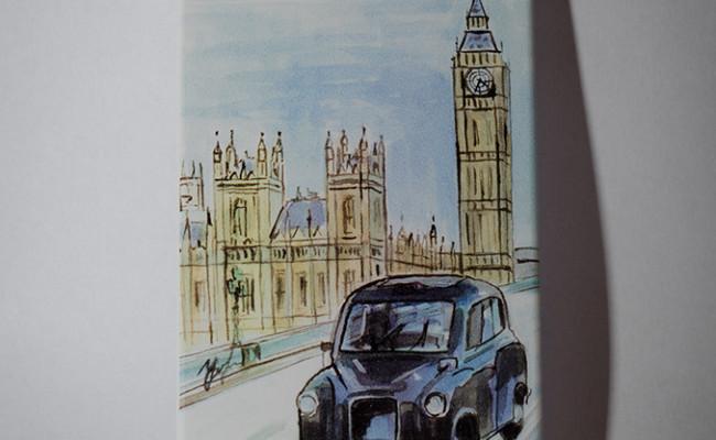 Путешествие в Лондон чехол для айфон 5