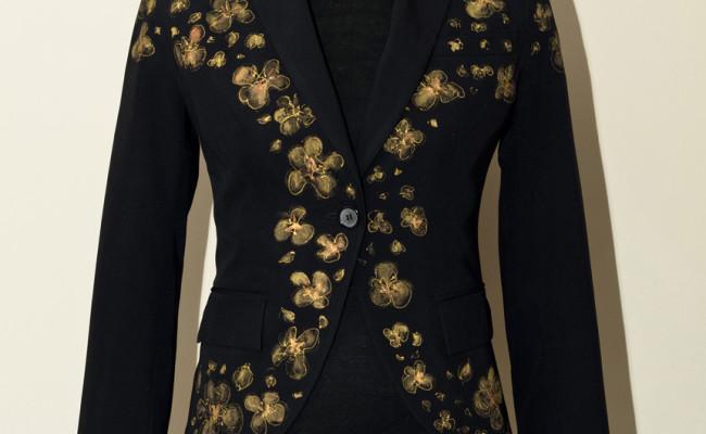цветы-пиджак